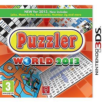 Puzzler World 2013 (Nintendo 3DS)