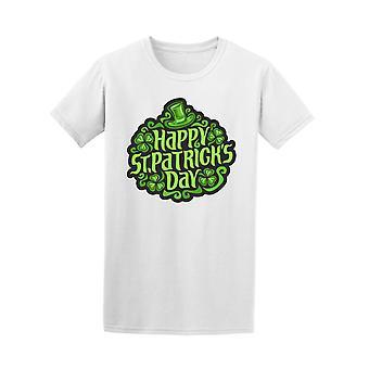 Hyvää Pyhän Patrickin päivä Shamrocks Design t-paita - kuva: Shutterstock