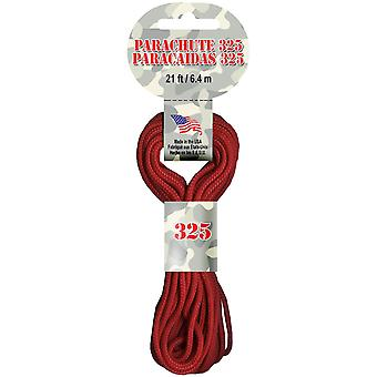Parachute Cord 3mmX21'-Red