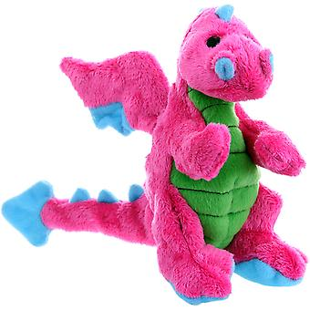 Godog Dragons With Chew Guard Small-Pink