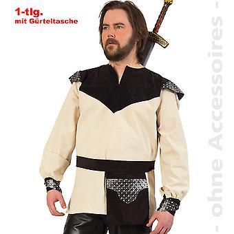 Doblete del medieval de la mens de caballero traje traje de Señor de Ranger