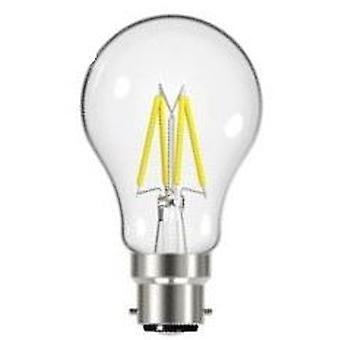 1 X Energizer 7.2W = 60W LED Filament GLS Light Bulb Lamp Vintage BC B22 Bayonet Cap [Energy Class A+]