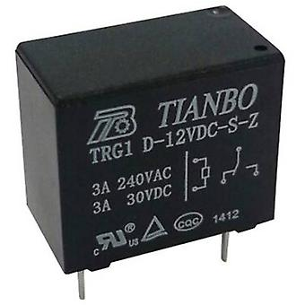 Tianbo Electronics TRG1 D-12VDC-S-Z PCB relays 12 Vdc 5 A 1 change-over 1 pc(s)