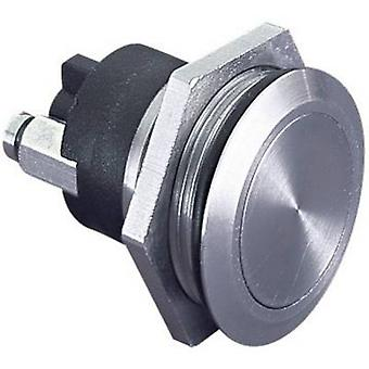 Bulgin MP0037 Tamper-proof pushbutton 50 V 1 A 1 x Off/(On) IP68 (front bezel sealed) momentary 1 pc(s)
