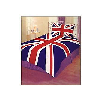Union Jack bär Union Jack enda påslakan Set