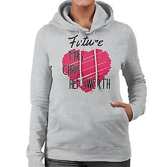 Future Mrs Chris Hemsworth Women's Hooded Sweatshirt