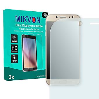Samsung Galaxy J7 (2017) Screen Protector - Mikvon Clear (Retail Package with accessories) (intentionally smaller than the display due to its curved surface)