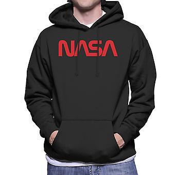 The NASA Logo 1975-1992 Men's Hooded Sweatshirt