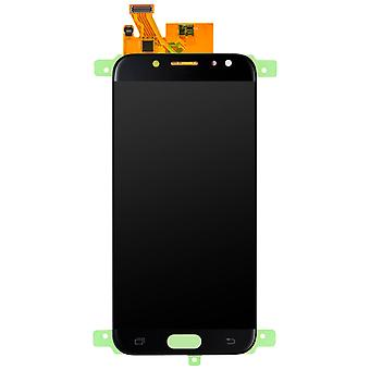 LCD replacement part with touchscreen for Galaxy J7 2017 - Black