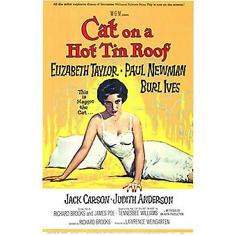 Cat on a Hot Tin Roof Movie Poster (11 x 17)