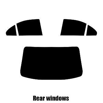 Pre cut fönstret nyans - Mitsubishi Lancer 4-dörrars sedan - 2005 till 2008 - bakre windows