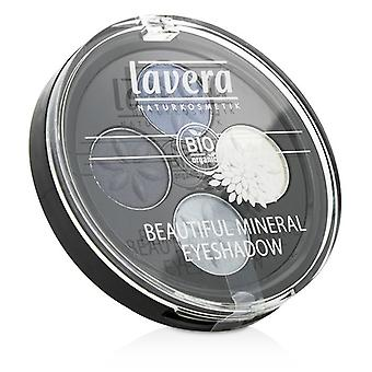 Lavera Beautiful Mineral Eyeshadow Quattro - # 07 Blue Platinum - 4x0.8g/0.026oz
