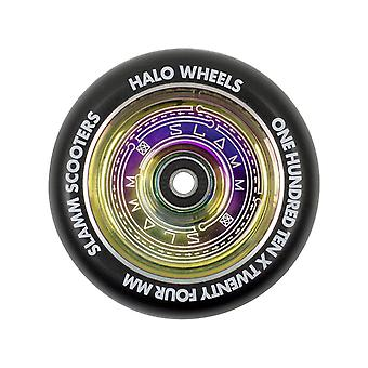 Slamm Neochrome Halo Deep Dish - 110mm Single Scooter Wheel