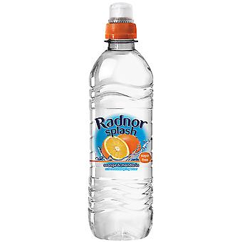 Radnor Splash Orange und Mandarine aromatisierte Wasser