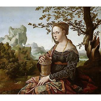 Mary Magdalene, Caspar David Friedrich, 67 x 76,5 cm
