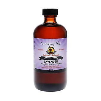 Sunny Isle Jamaican Castor Oil Lavender 8oz.