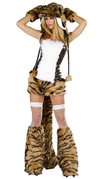 Waooh 69 - Déguisement Sexy De Tigresse Sherka