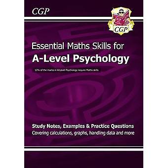 Nya A-nivå psykologi - grundläggande matematik färdigheter av CGP böcker - CGP Boo