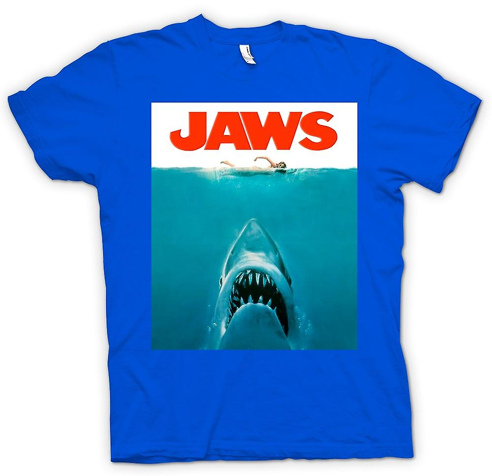 Mens t-skjorte-Jaws haien