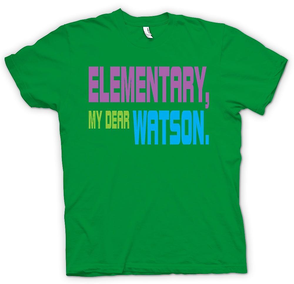 T-shirt homme - Sherlock Holmes primaire - Drôle