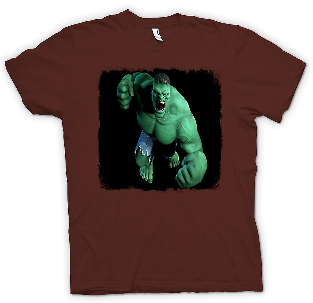 Heren T-shirt - Incredible Hulk - vuist