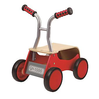 Hape-Little Red Rider wooden balance bike-Red