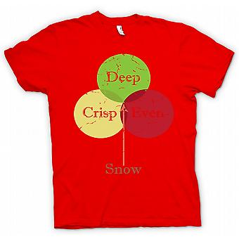 Womens T-shirt - Deep Crisp Even Snow - Funny