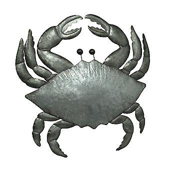 Verzinktes Metall Küste Krabbe Wandbehang