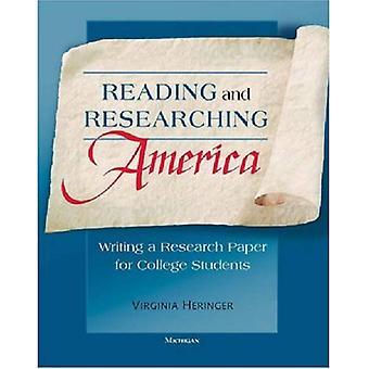 Läsa och forska Amerika: skriva en uppsats för studenter