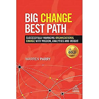 Big Change, Best Path: Successfully Managing Organizational Change with Wisdom, Analytics and Insight