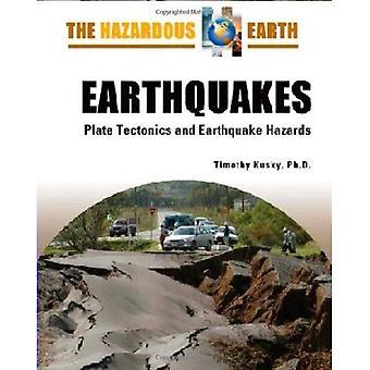 Terremoti: tettonica di piastra e pericoli terremoto (terra pericolosa)