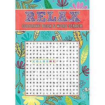 Relax Coloring Book & Word� Search (Coloring Book & Word Search)