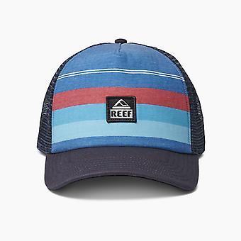 Reef Men's Snapback Trucker Cap ~ Peeler 2 blue