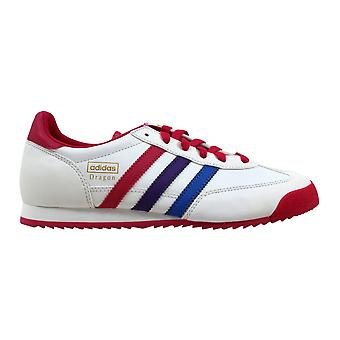 Adidas Dragon J White/Pink-Purple Q20540 Grade-School
