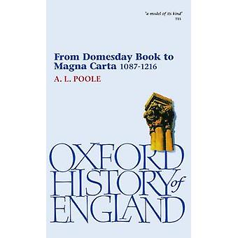 From Domesday Book to Magna Carta 10871216 by Poole & Austin Lane