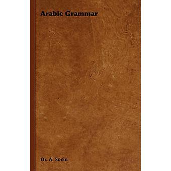 Grammaire arabe, par Socin & Albert