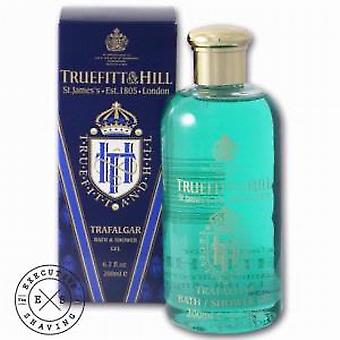 Truefitt en Hill Trafalgar bad en douchegel, 200ml