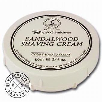 Taylor of Old Bond Street Travel Sandalwood Shaving Cream (60ml)