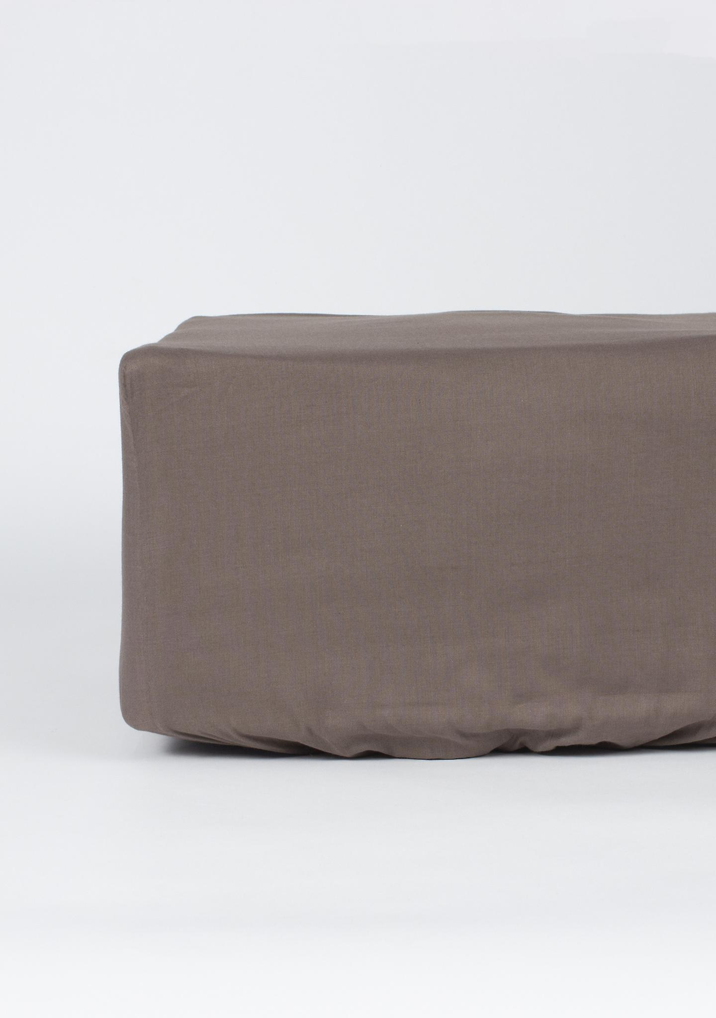 Cm X Pierre Polyester NightlifeRefroidissement Cardin Sheet coton 20030 Marron Fitted 90 Y7y6fbg