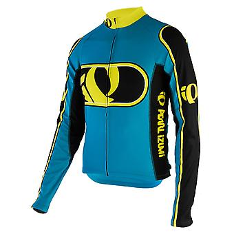 Pearl Izumi Electric Blue Elite Thermal LTD IP2 grande manica lunga ciclismo maglia