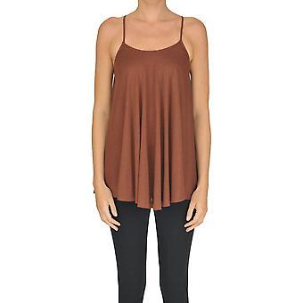 Alysi Brown Cotton Top