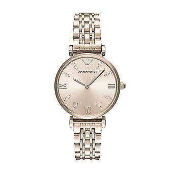 Emporio Armani Ar11059 Ladies Gold Blush Bracelet Watch