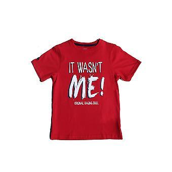 Kids - It Wasn't Me Tee - Red