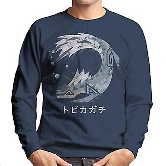 Monster Hunter World Tobi Kadachi Kanji Icon Men's Sweatshirt