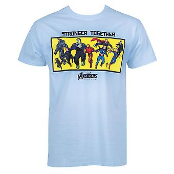 Avengers Endgame Stronger Together Lineup Men's T-Shirt