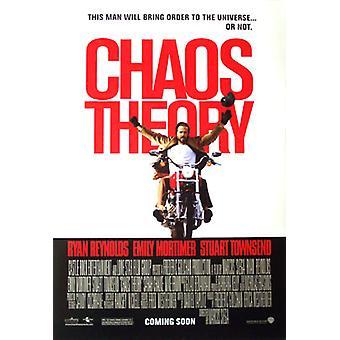 Chaos-Theorie (Doppelseitige regelmäßige) Original-Kino-Poster