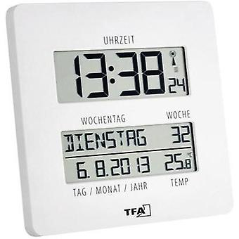 Radio Wall clock TFA 60.4509.02 27 mm x 195 mm x 195 mm