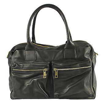 CTM large travel bag leather