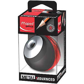 Advanced Metal Pencil Sharpener-Black & Red 67510