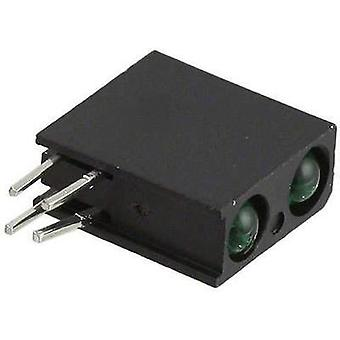LED component Green (L x W x H) 13.33 x 10.92 x 4.32 mm Dialight
